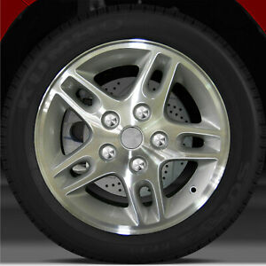 16x7 Factory Wheel sparkle Silver For 1999 2004 Jeep Grand Cherokee