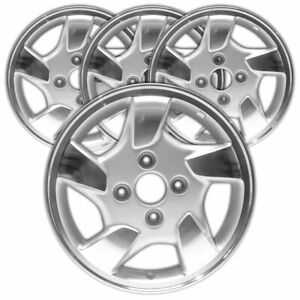 15 Silver Rim By Jte For 1999 2000 Honda Accord 15x6 set Of 4