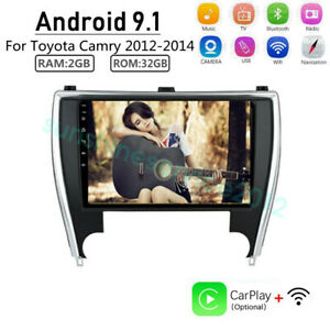 Android 9 1 Car Dvd Player Gps Radio Stereo Navigation For Toyota Camry 2012 14