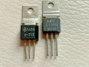 2sc1096 2sa634 Transistor For Audio Frequency Free Shipping Within Us