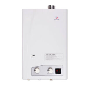 Eccotemp Home Liquid Propane Powered Tankless Hot Water Heater White open Box
