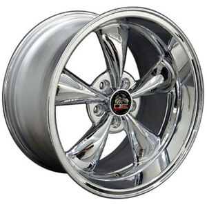 Chrome Wheel 18x10 For 1994 2004 Ford Mustang Owh0758