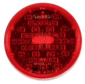 Truck Lite 44202r Super 44 4 Red Round 42 Led Diode Stop Turn Tail Light