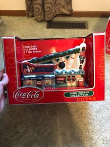 Coca Cola Town Square Collection Ten Pin Bowling Alley And Diner 2002