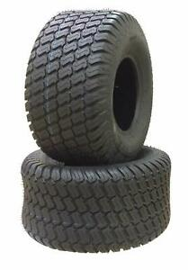20 X 8 00 8 set Of 2 Airloc P332 M t Turf Tractor Mower Lawn Tires 6 Ply New