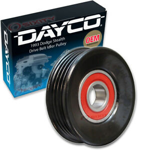 Dayco Drive Belt Idler Pulley For 1993 Dodge Stealth Tensioner Pully Ji