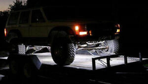 White Led Underbody Glow Under Car Accent Rock Neon Light Kit For Toyota Tundra
