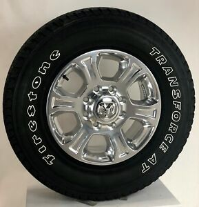 New Takeoff 18 Dodge Ram 2500 Polished Wheels With Firestone At Tires