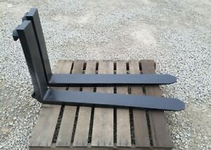 Pair Class 3 Forklift Forks 5 x42 x1 3 4 For 20 Carriage very Good Condition