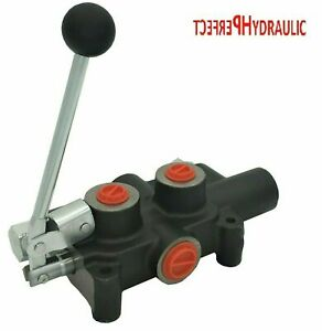 Log Splitter Valve M Kick Out 80l Hand Lever Valve 6 3 Way Valve Hydraulic