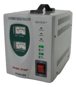 Seven Star Atvr 300 Automatic Voltage Regulator Power Conditioner 110 220v