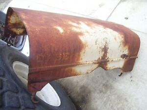 Vintage Ji Case 400 Tractor Hood Latches Assembly