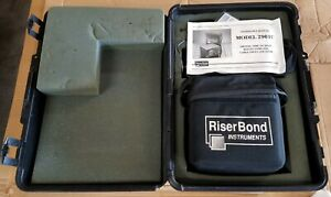 Riser bond Digital Time Domain Reflectometer 2901c cable Fault Locator With Case
