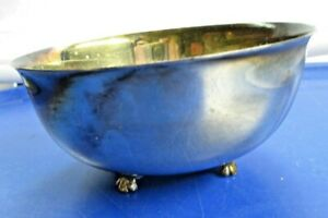 Wallace Silver Plate Small Footed Bowl 637