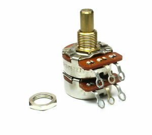 Jh Dual 100k Audio Linear Potentiometer 100k Ohm Taper
