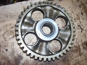 Vintage Ford 850 Gas Tractor engine Camshaft Front Gear 1955