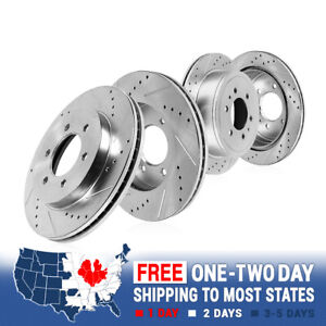 Front Rear Brake Rotors For 2007 2014 Ford Expedition Navigator