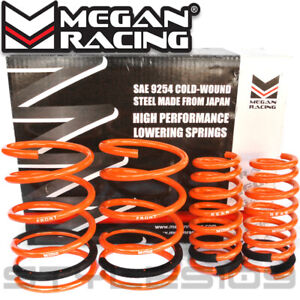 Megan Racing Lowering Springs Kit For Acura Rsx Base type s 2002 2004