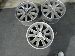 Mustang 17x9 Halibrand Wheel And Center Caps 3 Only
