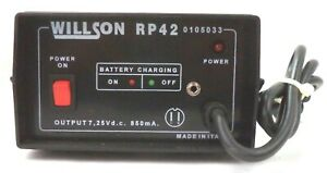 Willson Powered Air purifying Respirator 02202a Battery Charger Pn Rp42