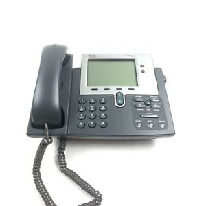 Cisco 7941 Cp 7941g 2 line Unified Ip Voip Office Business Phone tested working