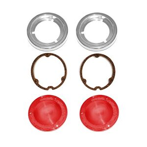 1958 1959 Chevrolet Gmc Fleetside Truck Tail Light Lens Gasket And Bezel Kit