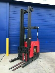 2014 Raymond 750 R45tt 4500 Lb Capacity Electric Reach Forklift Low Hours
