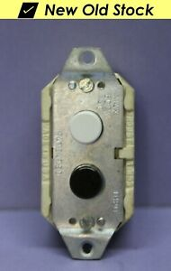 C h Push Button Switch Station 2 circuit Momentary White Closed Black Open