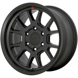 4 motegi Mr149 Mt6 17x8 5 5x150 18mm Satin Black Wheels Rims 17 Inch