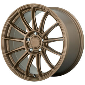 4 motegi Mr148 Cs13 18x8 5 5x112 35mm Bronze Wheels Rims 18 Inch