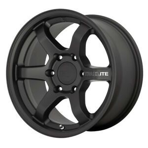 4 motegi Mr150 Trailite 17x8 5 6x5 5 18mm Satin Black Wheels Rims 17 Inch