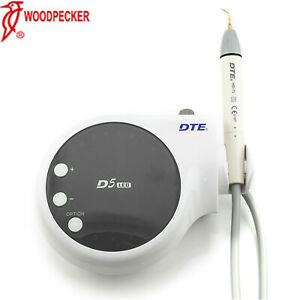 Woodpecker Original Dental Dte D5 Led Ultrasonic Piezo Scaler 110v Black