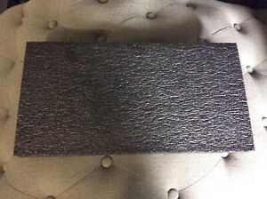 11 Pack Polyethylene Foam Sheet 18 3 8 X 9 5 8 X 1 Charcoal Black Pre owned