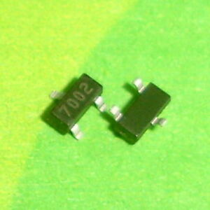 3000 Pcs 2n7002lt1g Sot23 2n7002 N channel Trench Mosfet 1 Reel