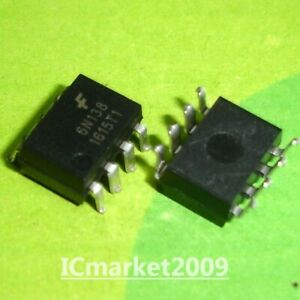 10 Pcs 6n138 Smd 8 High Speed Opic Photocoupler