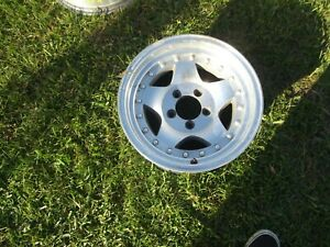American Racing Ford 15x7 Machined W Clear Coat Wh 63