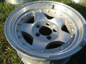 American Racing Ford 15x7 Machined W Clear Coat Wh 65