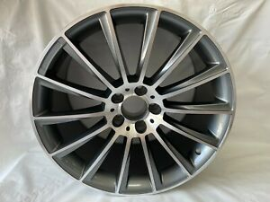 Set Of 4 18 Black S63 Amg Style Rims Wheels Fits Benz Cls500 Cls550 Staggered N