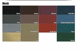1969 Cadillac Coupe Deville Mesh Package Tray 15 Colors