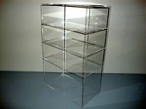 Ds 12 X 8 X 19 Without Door Showcase Acrylic Countertop Display Case