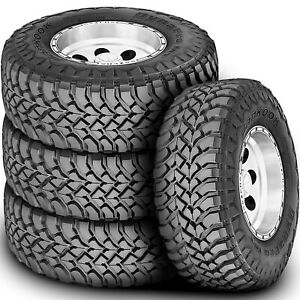 4 New Hankook Dynapro Mt Lt 315 70r17 35x12 50r17 M T Mud Tires