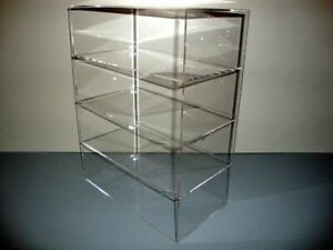Ds 12 X 7 X 16 Without Door Showcase Acrylic Countertop Display Case