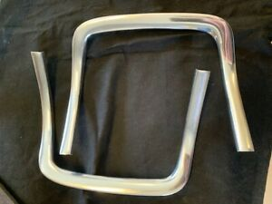 1968 69 Dodge Charger Grill Corner Molding Lh Rh Pair Original Part Restored