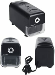 Victagen Electric Pencil Sharpener heavy Duty Automatic Helical Steel Blade
