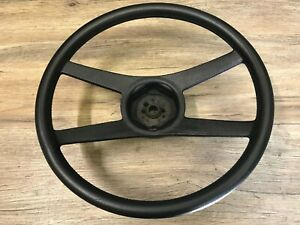 1970 71 72 73 74 Chevelle Nova Camaro Used Gm 4 Spoke Steering Wheel Black Oem