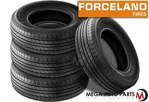 4 Forceland Kunimoto F20 205 55r16 91v 500aa All season Touring Tires
