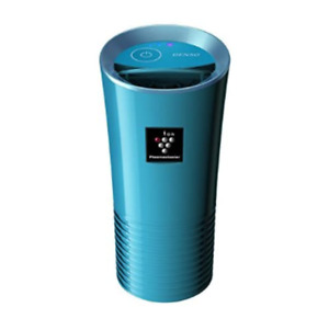 Plasmacluster Ion Air Purifier Denso Japan Car Accessories Cup Holder Ion Blue