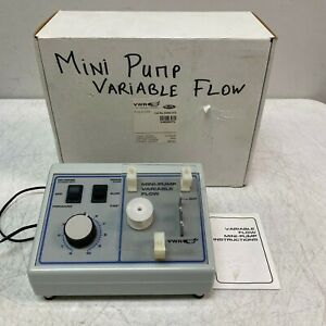Vwr Scientific 54856 075 Variable Speed Peristaltic Mini pump Medium Flow