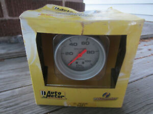 New Auto Meter 4421 Pro Comp Ultra Lite Oil Pressure Gauge Free Ship