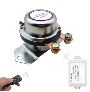 12 24v Car Remote Control Battery Switch Disconnect Anti theft Power Master Kill